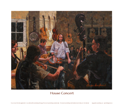 House Concert — Print