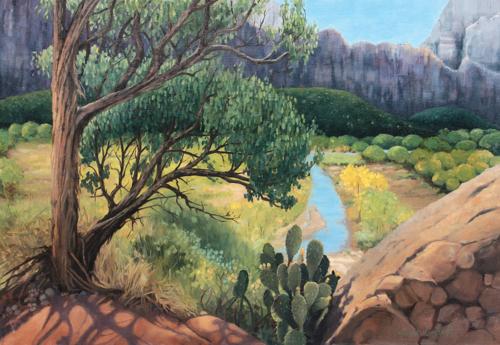 River View, Kayenta Trail