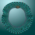 Reversible Santa Fe Collar: Side 2 (thumbnail)