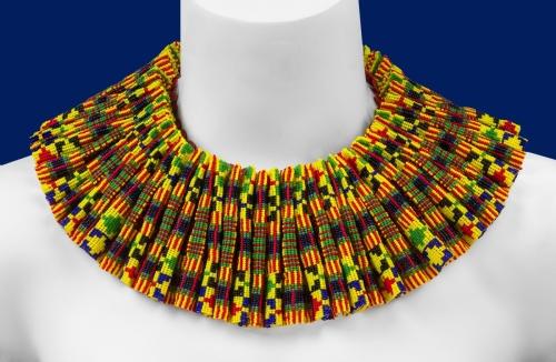 Kente Reversible Collar: Side 2