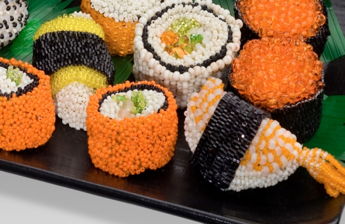 Sushi Sampler Detail (large view)