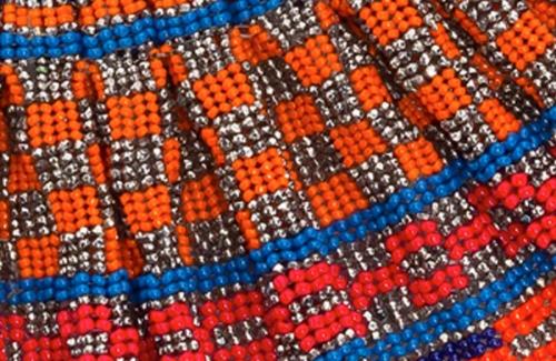 Sunburst Collar Detail (large view)