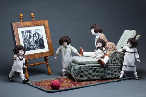 Rose & Daughters 1 by Linda Rettich