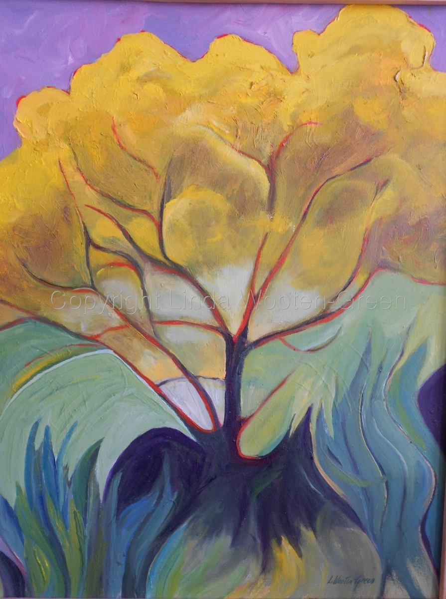 Yellow Tree (large view)