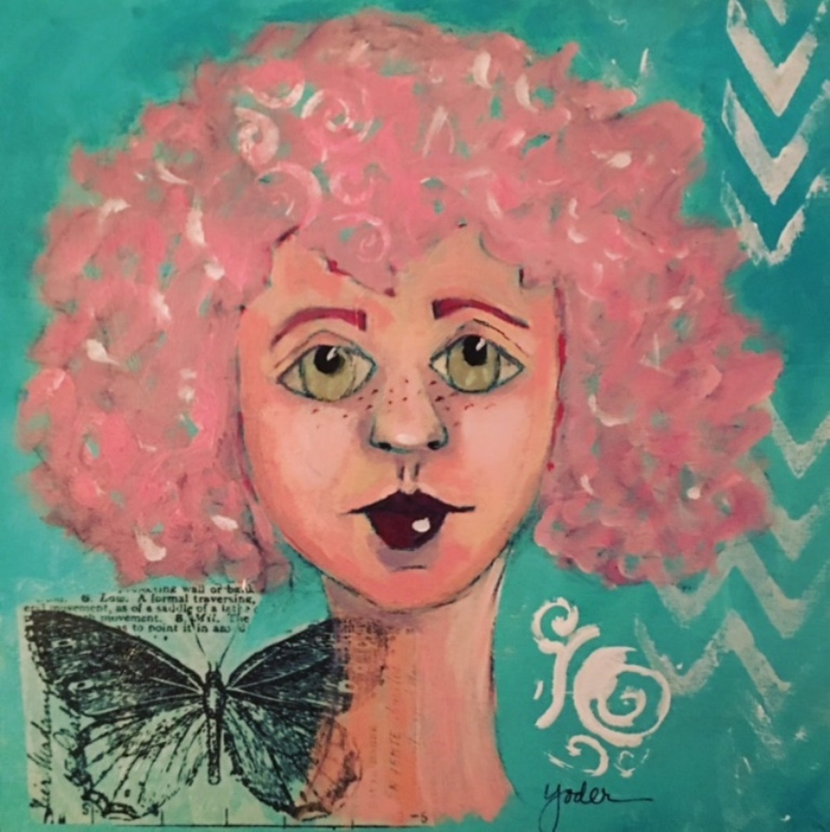 Butterfly Girl (large view)