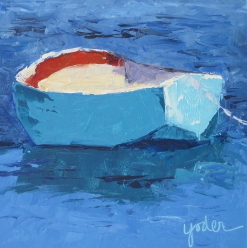 A Little Dinghy by LINDA YODER ART