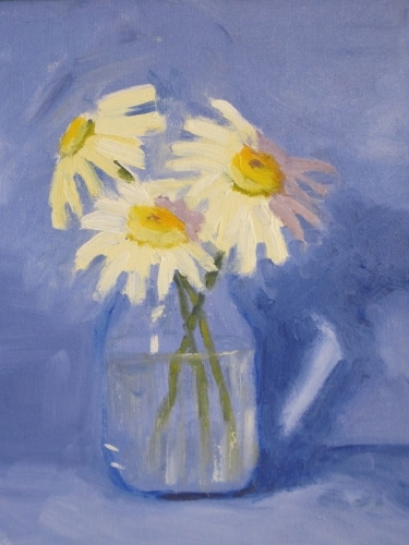 Jar of Daisies (large view)