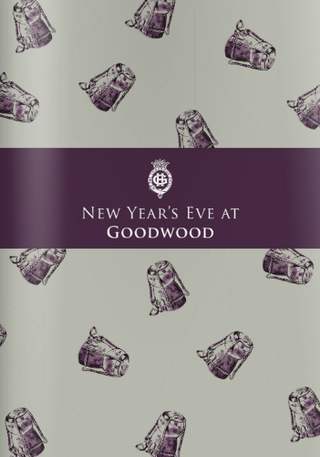 Cover for The Goodwood Hotel New Year's Eve Brochure