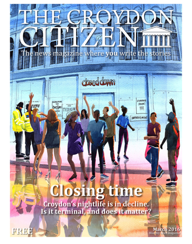 Croydon Citizen Cover Illustration March 2016