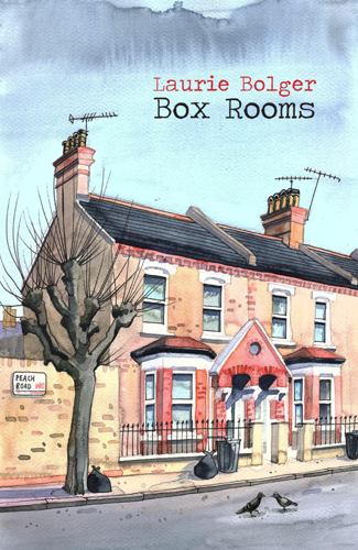 Book Cover for Laurie Bolger's Box Rooms