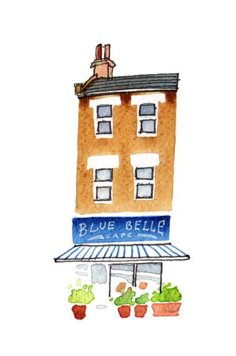 Blue Belle Cafe, Penge