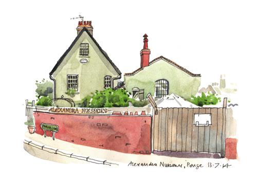 Alexandra Nurseries, Penge