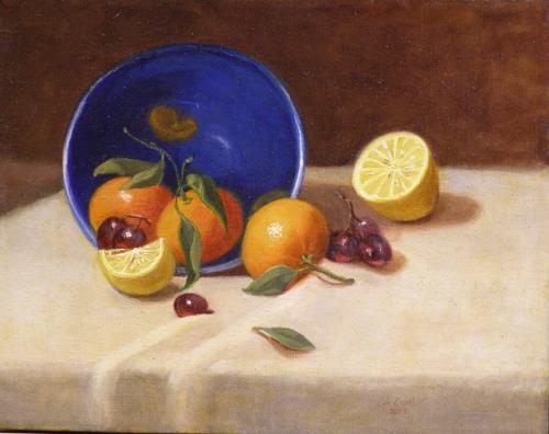 Tangernies and Blue Bowl II