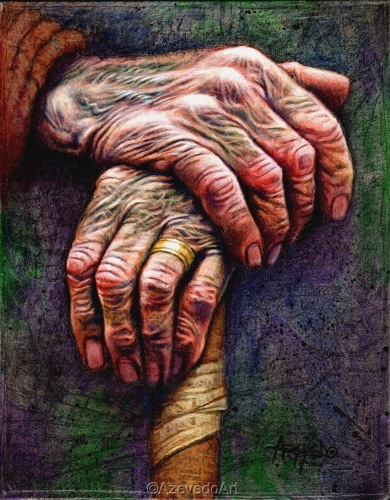 Old Hands by Lino Azevedo