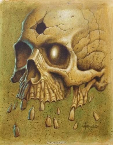 Lobotomy Skull 1