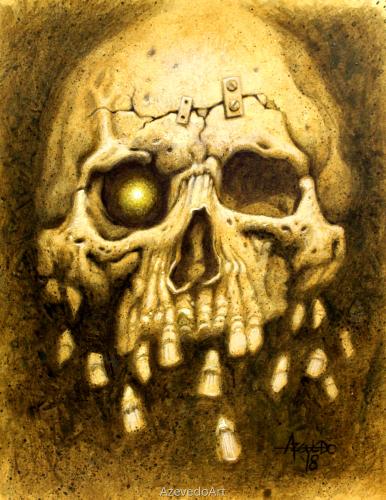 Lobotomy Skull 2