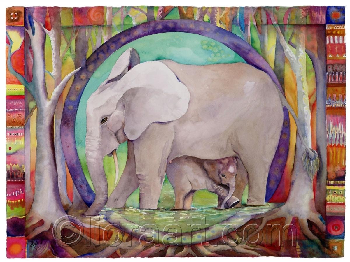 Mandala for Elephants (large view)