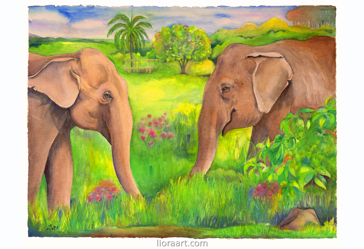 Guida and Maia (large view)