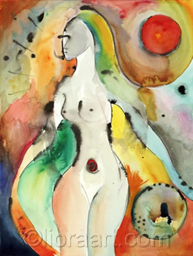 Chi © Liora 2005 by Liora Fine Art