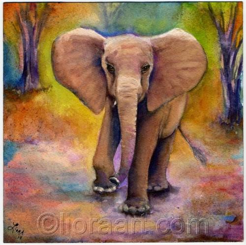 Mudanda by Liora Fine Art