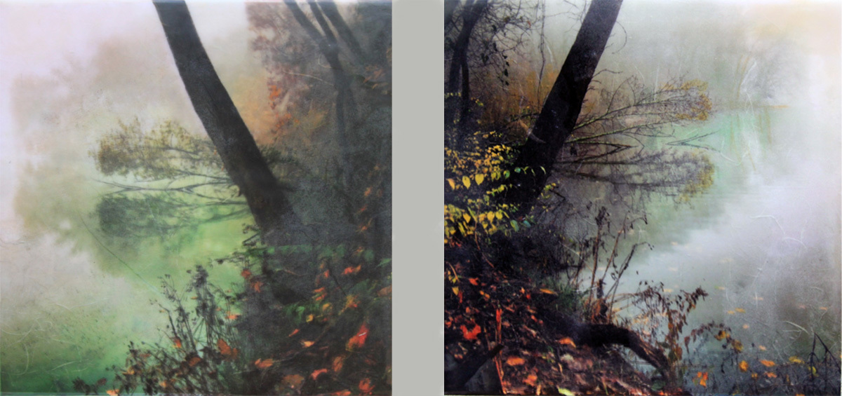 Earthen Fall Diptych (large view)