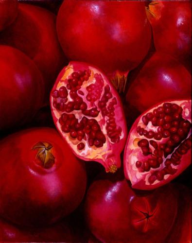 Pomegranates by LISA ERNST