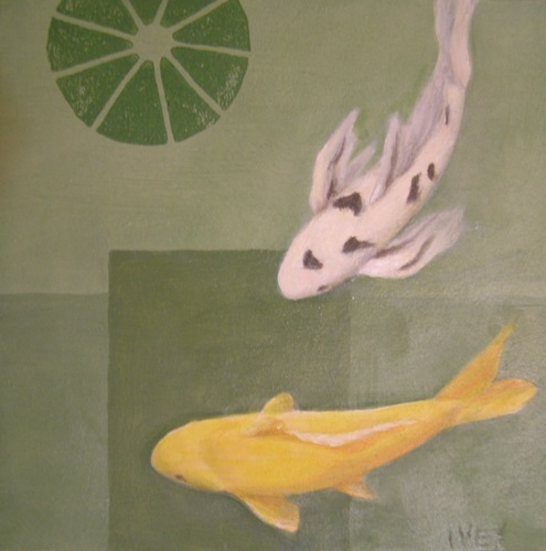 Small Koi; yellow