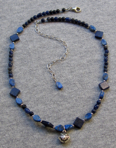 Lapis lazuli and Sodalite necklace