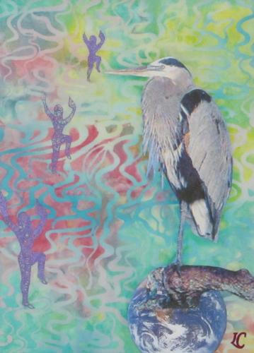 Heron Dancers