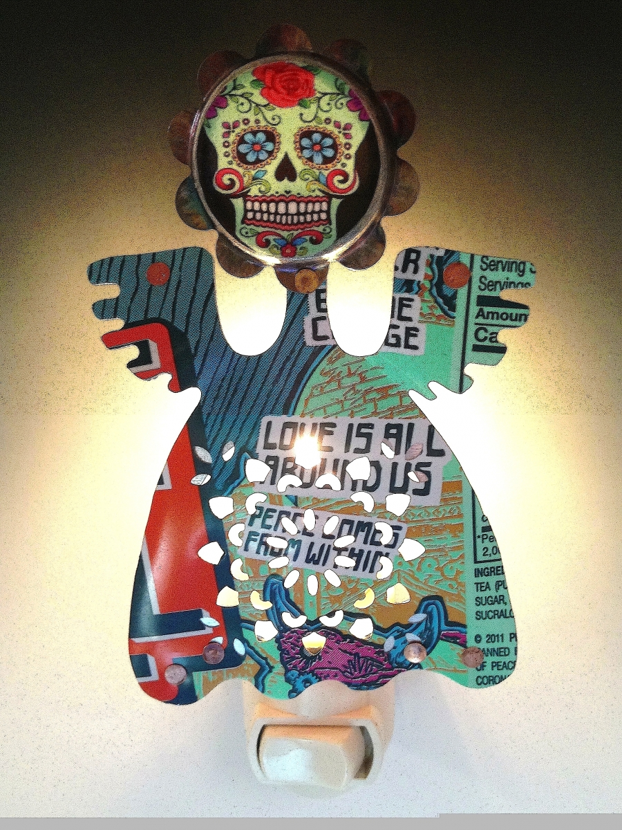 Day of the Dead Night Light (large view)