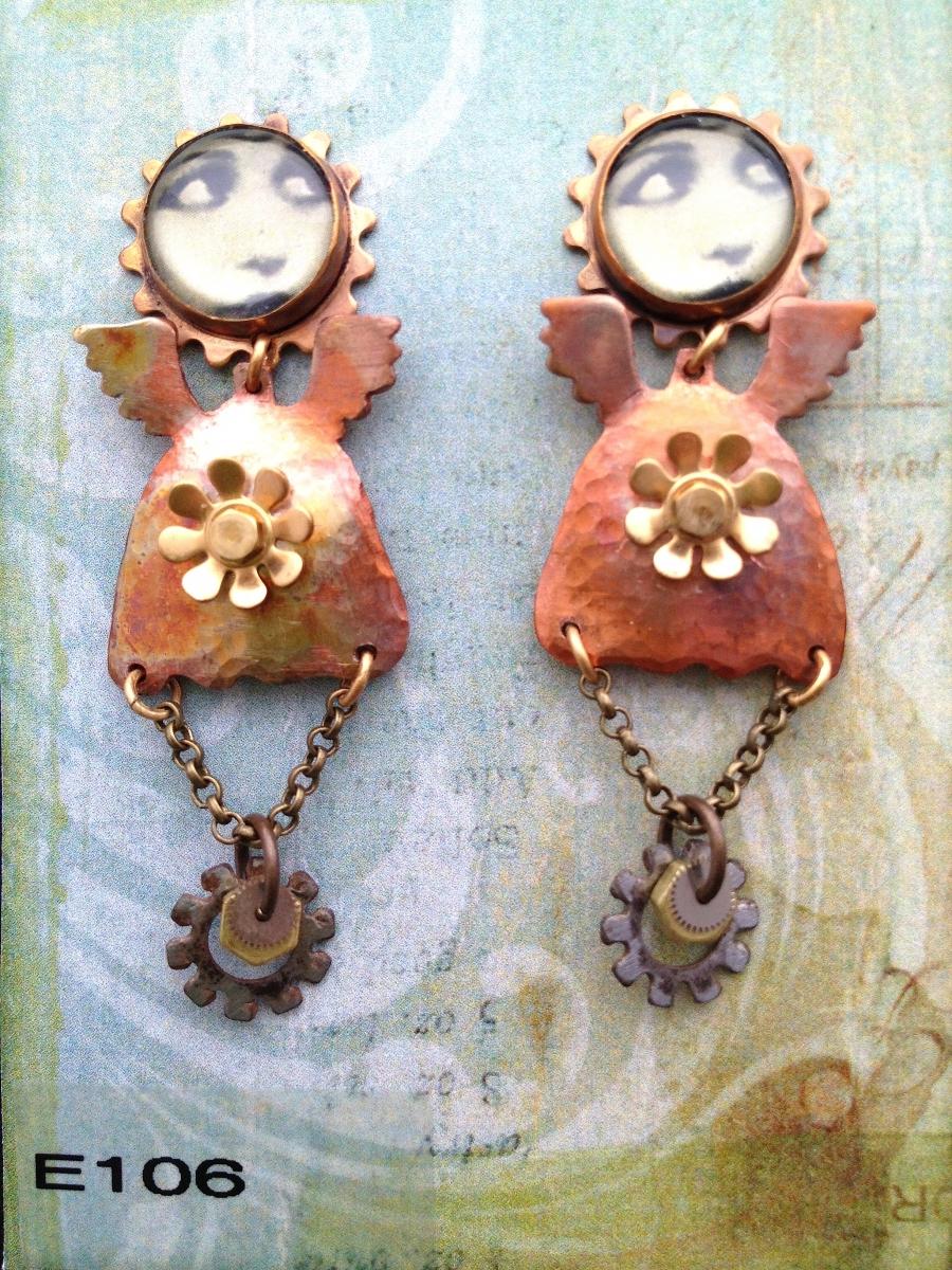 angel earrings (large view)