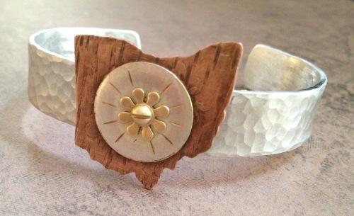 Ohio Bracelet 10 by LIZ FRANKLIN ARTS