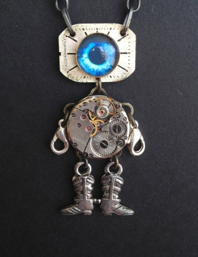 Robot Necklace 6