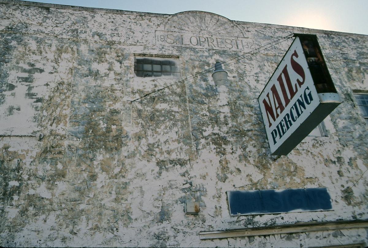 Laura Bennett, photography, documentary, houston third ward, Texas, urban, kodachrome, color (large view)