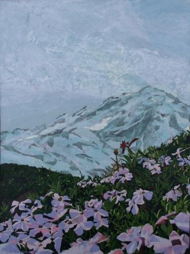 Paradise, Mt. Rainier by Leah K. Tomaino