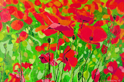 Poppies by Leah K. Tomaino