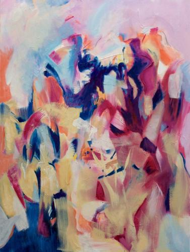 Improv17 by Letourneau Fine Art