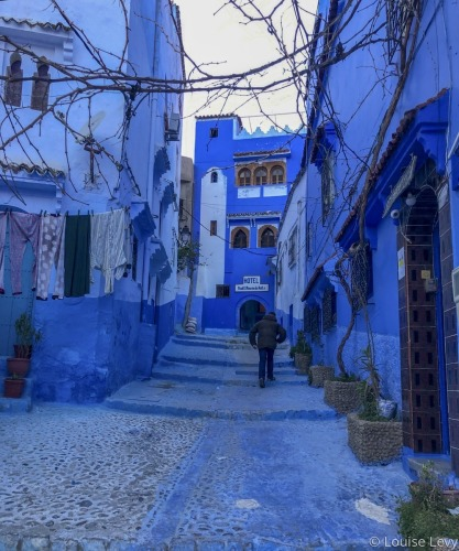 Chefchaouen by Louise Levy