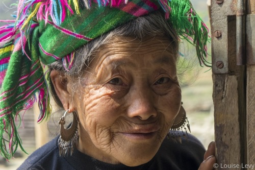 Hmong Woman by Louise Levy