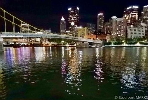 Walking in Pittsburgh