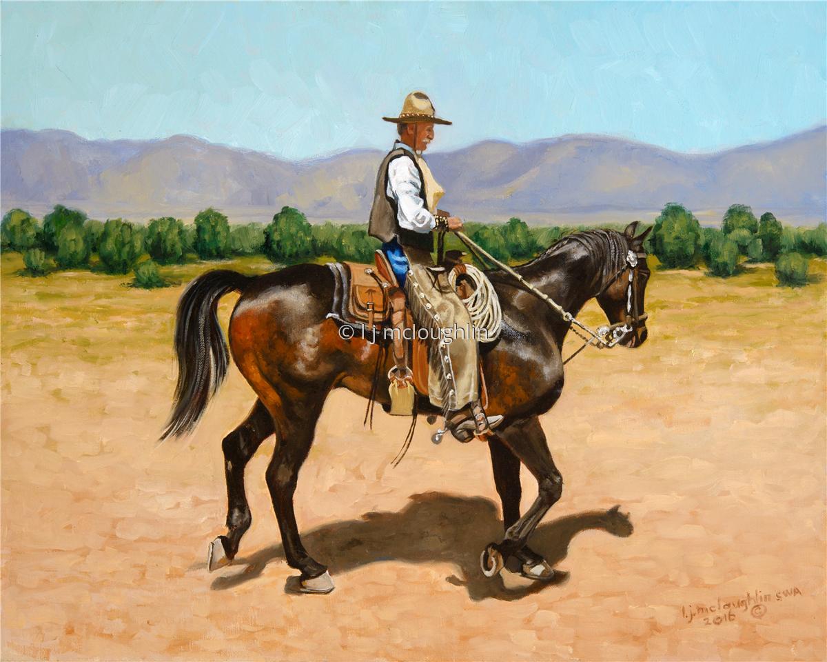 Painting A Proud Affair Original Art By L J Mcloughlin
