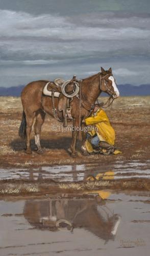 A break in the storm... by L J McLoughlin