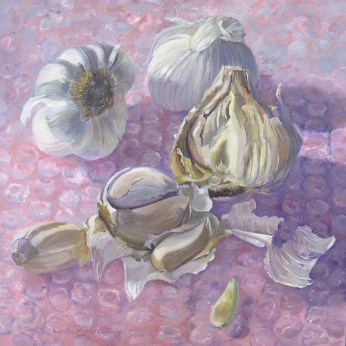 Garlic by Louise Morin Dichard