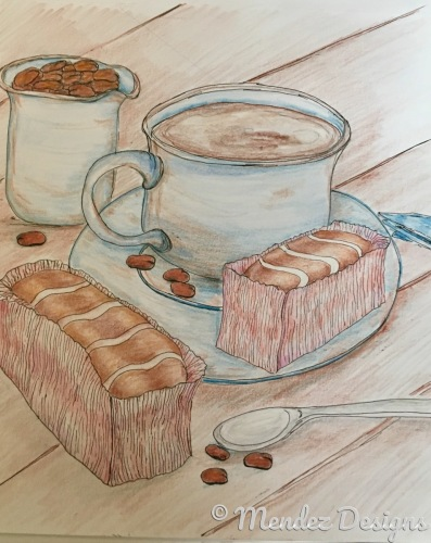 Coffee, beans, and sweets. by Mendez Designs