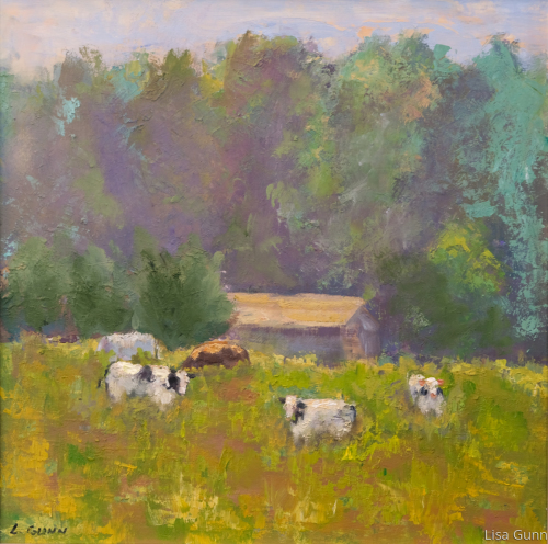 Cows in Summer