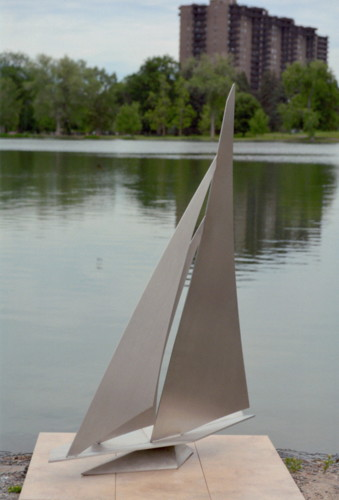 Sailing I by Larry Morin Sculptures