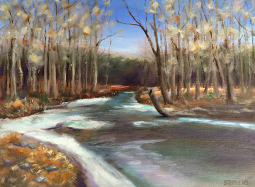 Craig Creek, Winter