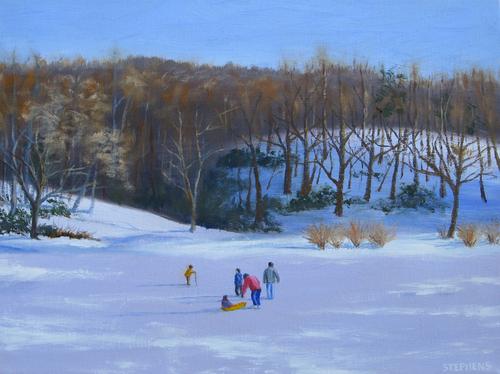 Pandapas Pond, Winter