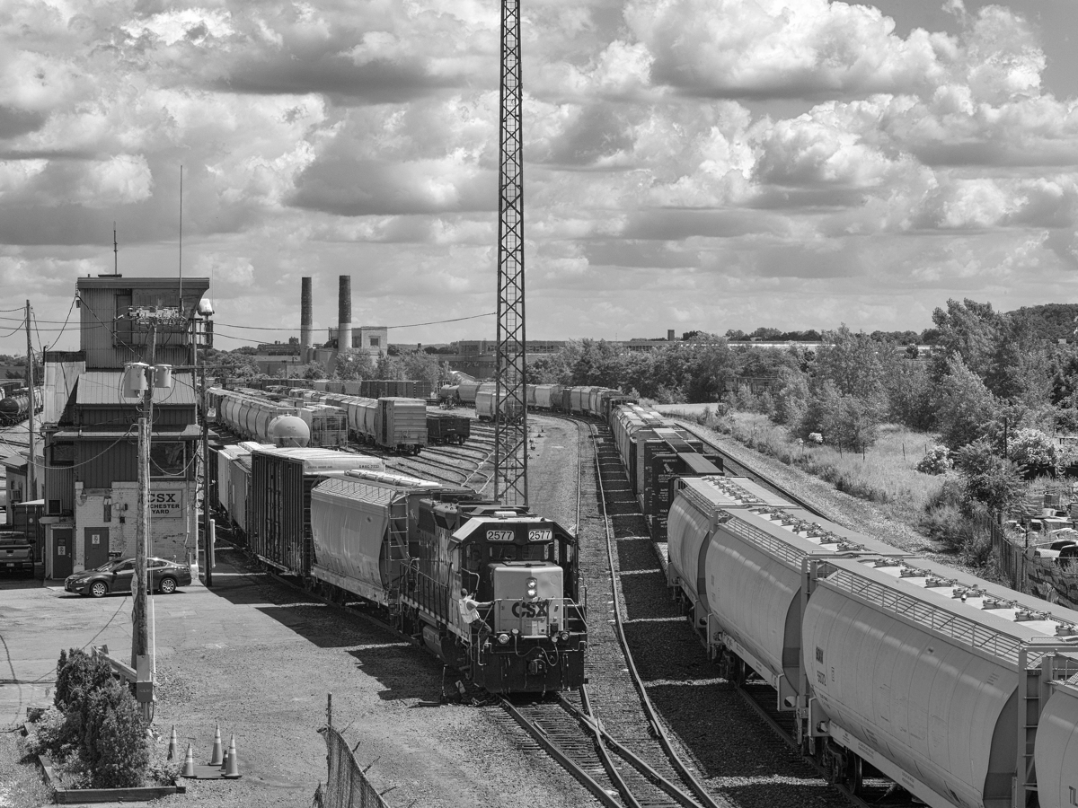 Railway Yard - Limited Edition Print 6 of 35 (large view)