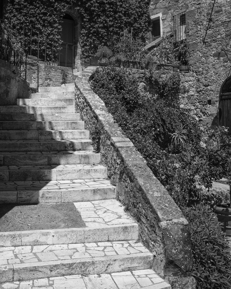 Steps, Tuscany-4564, Italy (large view)